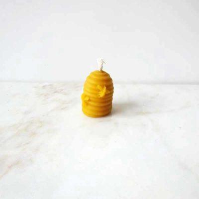bougies en cire d'abeille